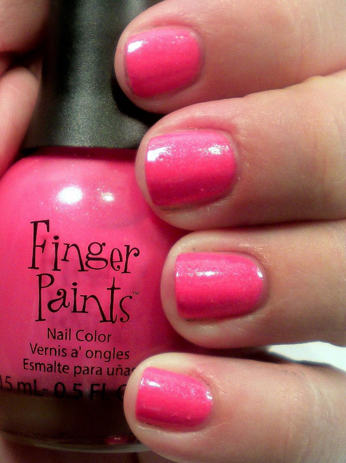 Nail Polish Addiction Anonymous: Finger Paints BCA Nail Polish