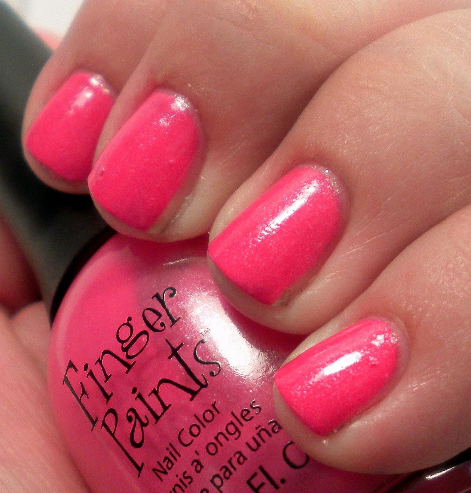 Nail Polish On Pinky Finger Meaning: Nail Polish Addiction Anonymous: Finger Paints BCA Nail Polish