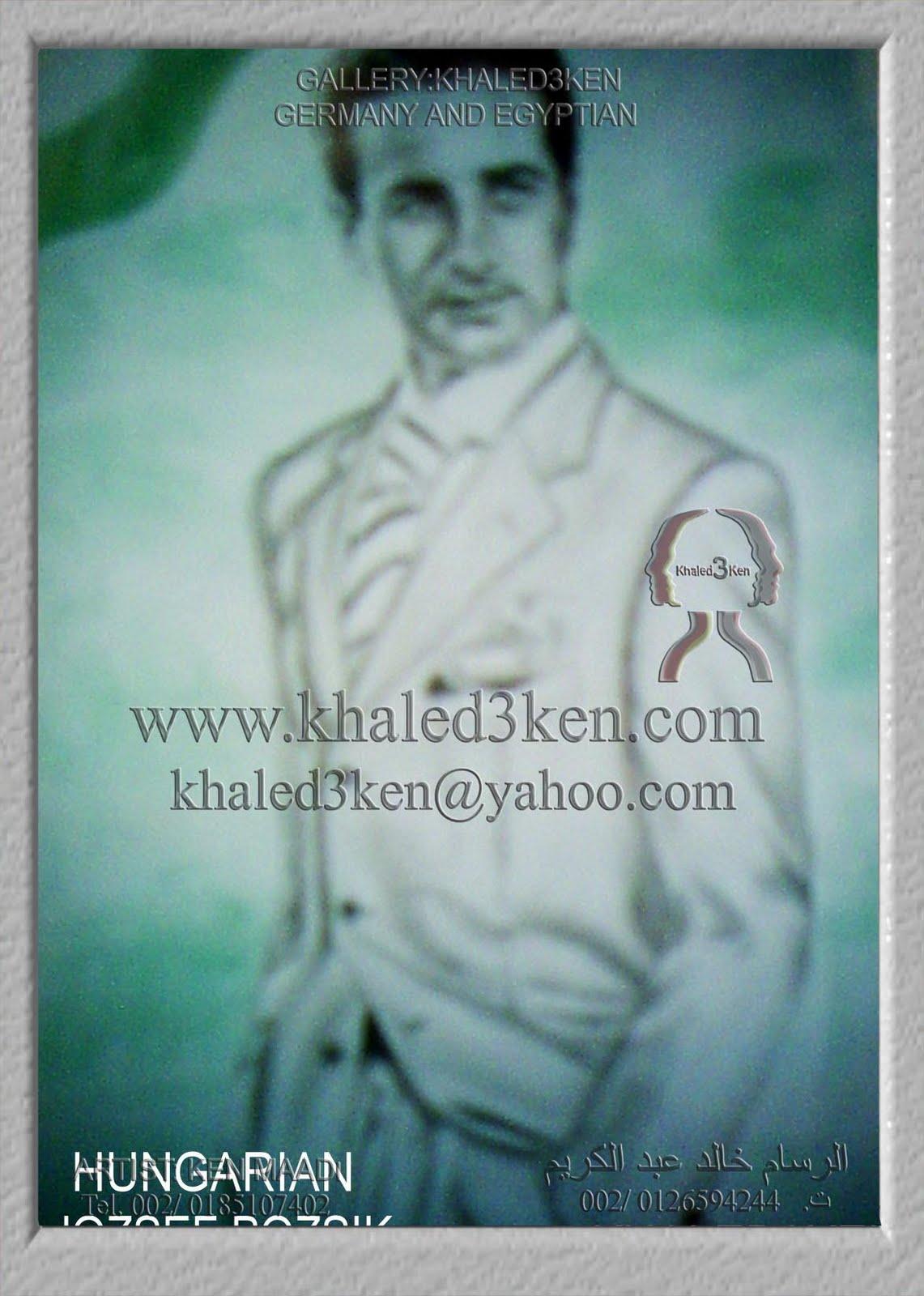 Football Khaled3Ken DRAWING PORTRAIT KHALED3KEN ARTIST KHALED ABD