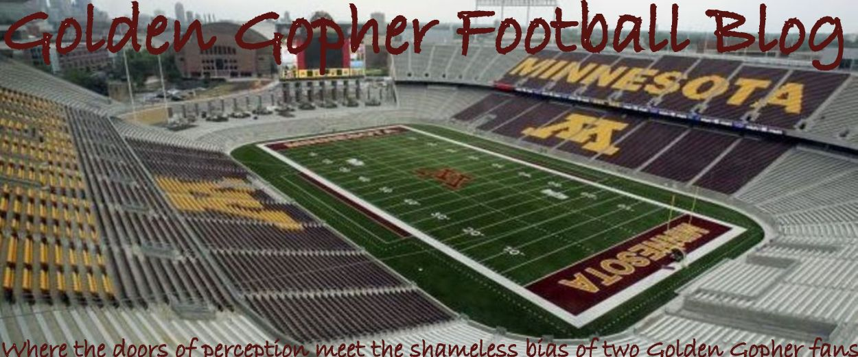 Golden Gopher Football Blog