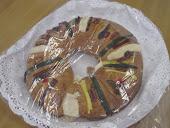Compartiendo la tradicional Rosca de Reyes