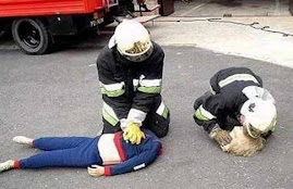 Irish paramedics