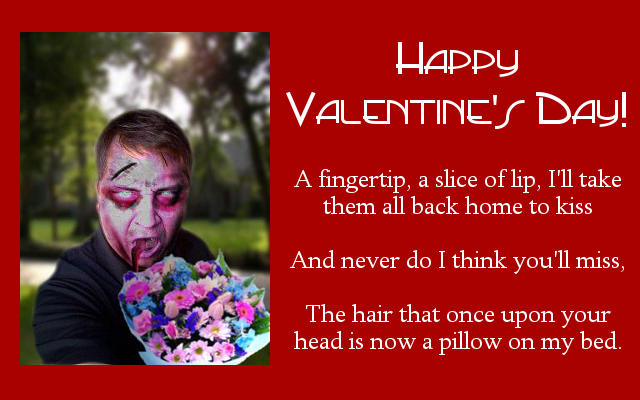 The Zombie Dating Guide Zombie Valentines Day Cards – Zombie Valentines Cards