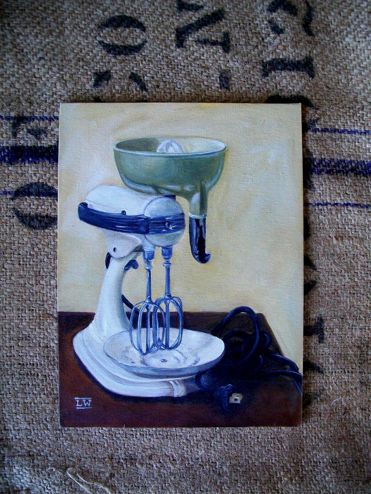 Cottage Hill: Vintage KitchenAid Mixer - Painting