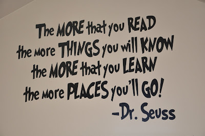 Dr. Seuss Reading Room for kids