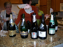 Women Wine Bubbly Day