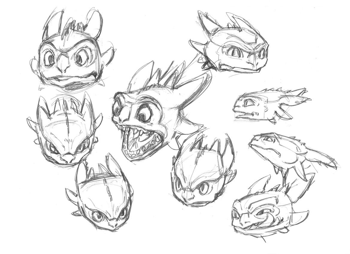 Dragon trainer disegni