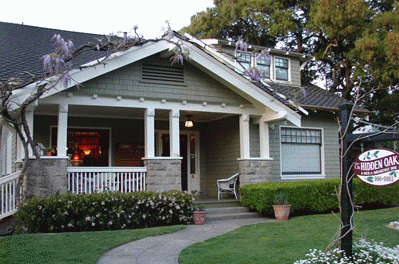 Craftsman bungalow, California, 1.5 storeys