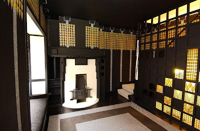 Art and architecture mainly charles rennie mackintosh 39 s for Dining room 78 derngate