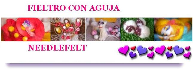 Fieltro con aguja ~ needlefelt