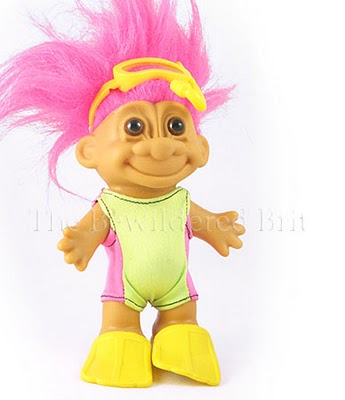 90s Troll Dolls Evil little dolls with crazy