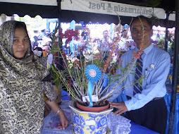 Tarmudji Peneliti LIPI Kebun Raya Purwodadi Jatim.