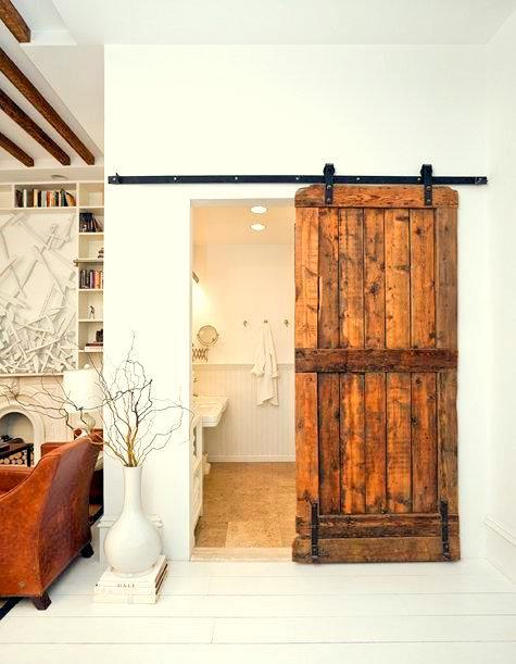 Muebles y decoraci n de interiores puertas correderas - Puertas correderas interior rusticas ...