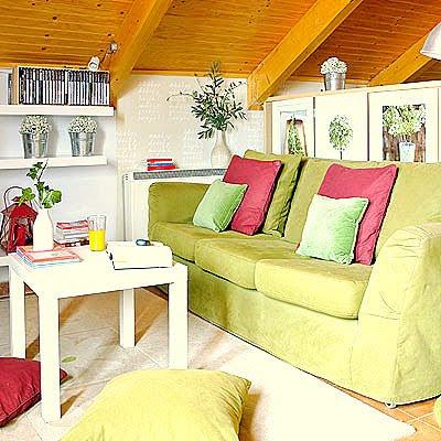 Muebles y decoraci n de interiores distintos ambientes - Muebles buhardilla ...