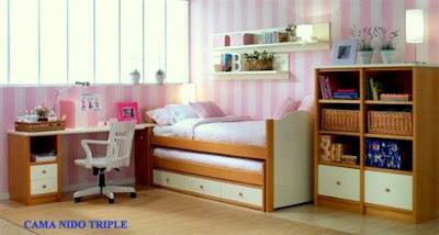 Muebles y decoraci n de interiores diciembre 2009 - Cama nido triple ...