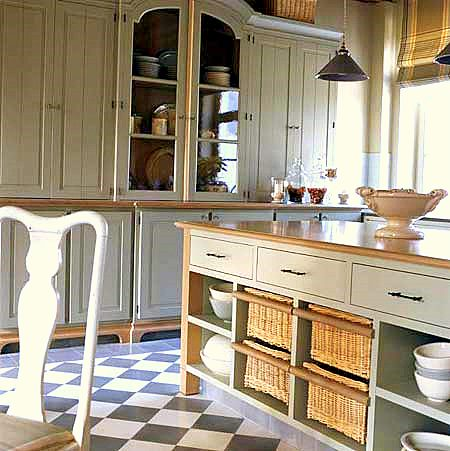 Muebles y decoraci n de interiores cocinas r sticas vuelve el encanto de lo - Cocinas rusticas de campo ...