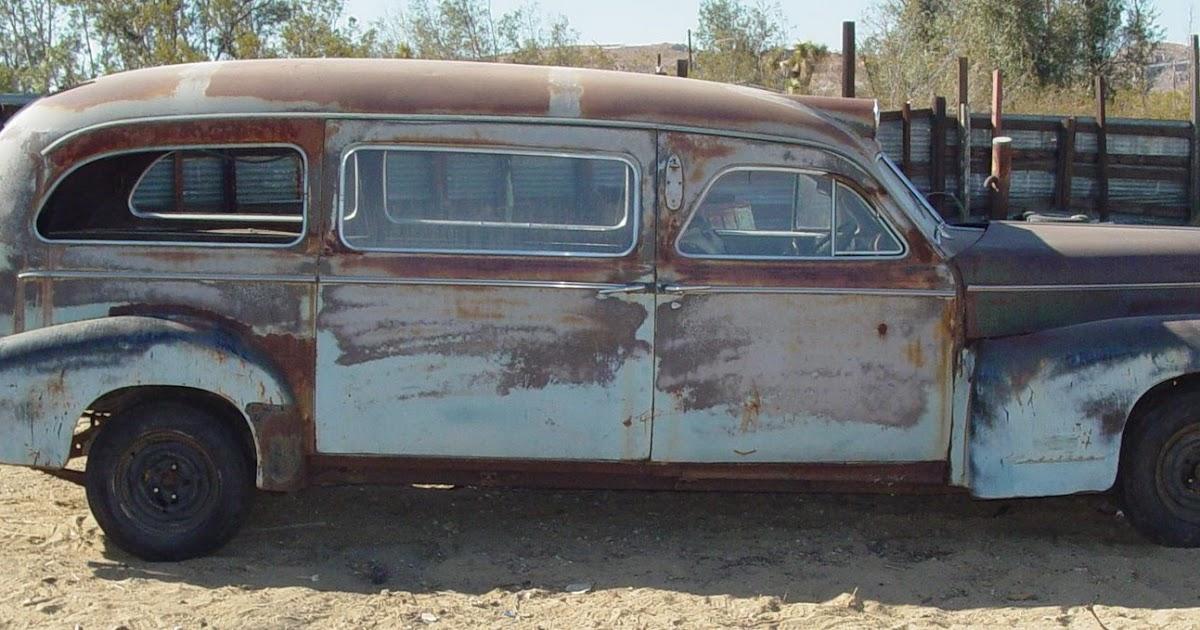 1948 Cadillac 75 Series 1948 Ambulance By Ohio Coach