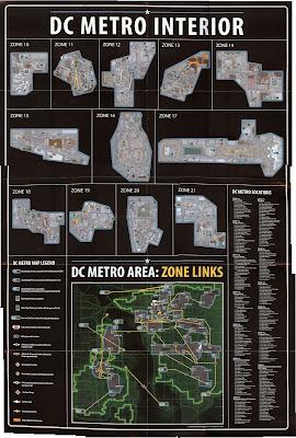 Info Fallout 3 Mapas Fallout 3