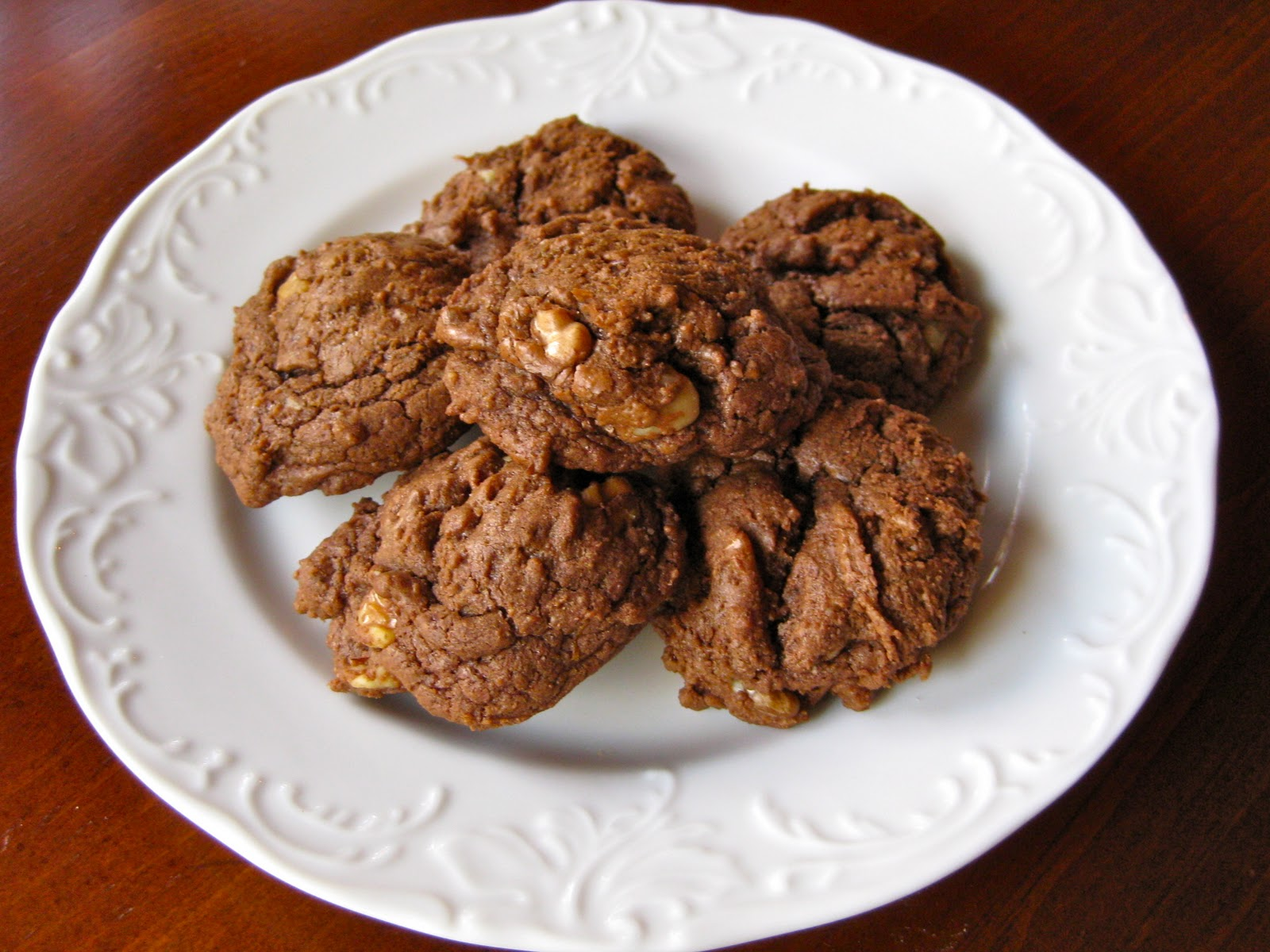 Chocolate Orange Olive Oil Cookies