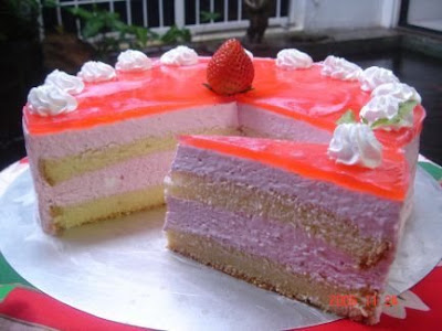 strawberry mousse cake filling recipes