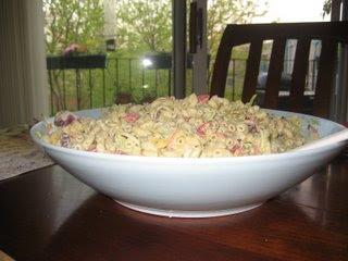 Macaroni and Vegetable Salad