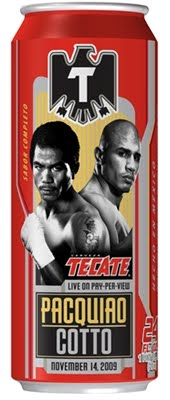 Tecate Beer Mail Rebate for HBO PPV Pacquiao vs. Cotto