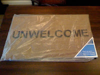 Unwelcome doormat from PayPal