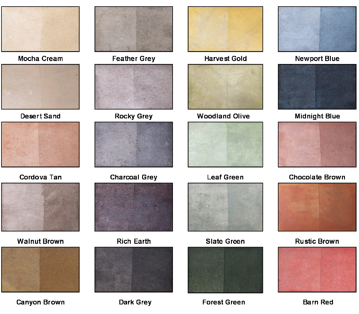 Earth tone colors for bedrooms