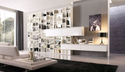 Modern Living Rooms Wall Units