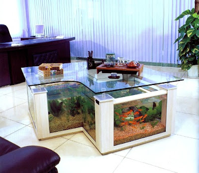 Aqua Table-Interior Office
