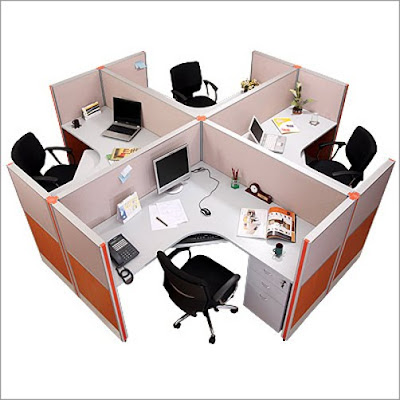 Modern Office Partitions Design Idea