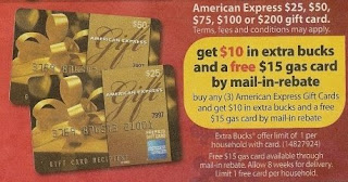 amex CVS Deals and Scenarios 11/23 11/29