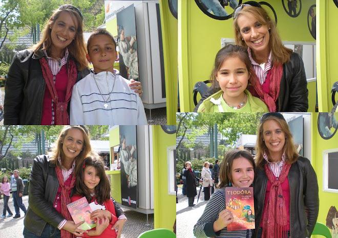LUISA FORTES DA CUNHA NA FEIRA DO LIVRO DE LISBOA 2009
