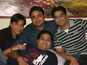 Ajay,Jayant, Madan n Me