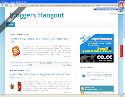 Rss In Firefox