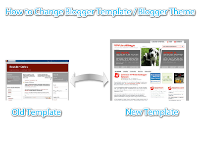How To Change Blogger Template