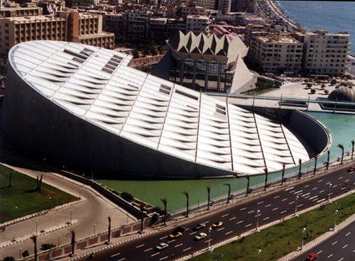 Edificio Arquitectónico . Alexandria