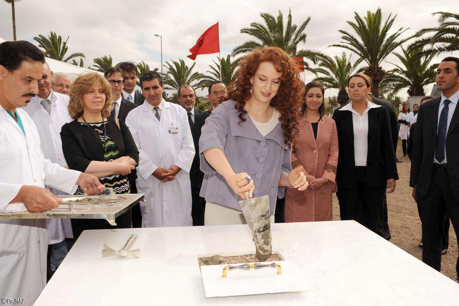 Lalla Salma procède à Casablanca à la pose de la 1ère pierre du