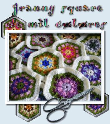 Granny square de colores
