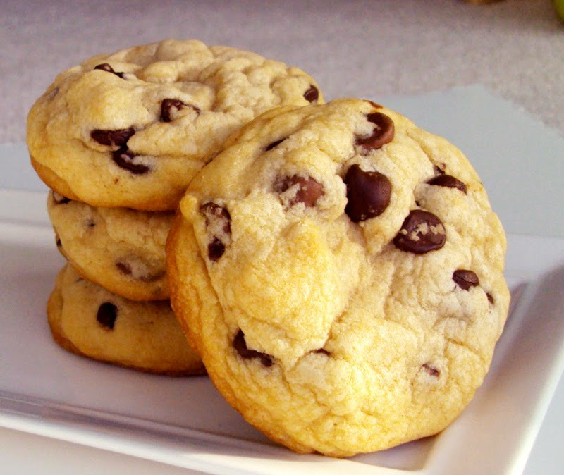 big chocolate chip cookies recipe from my baking addiction