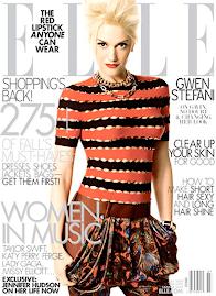 Elle America Julho 2009-Gwen Stefani