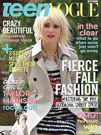 Teen Vogue Setembro 2009-Taylor Momsen