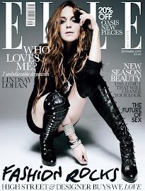 Elle Britânica Set 2009-Lindsay Lohan