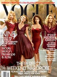 Vogue America Nov 2009-Penelope Cruz, Nicole Kidman, Marion Cotillard e Kate Hudson
