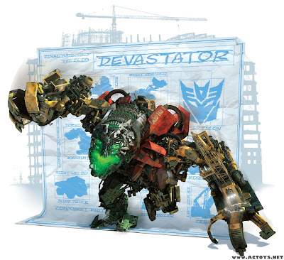 TF RoTF Devastator CG image