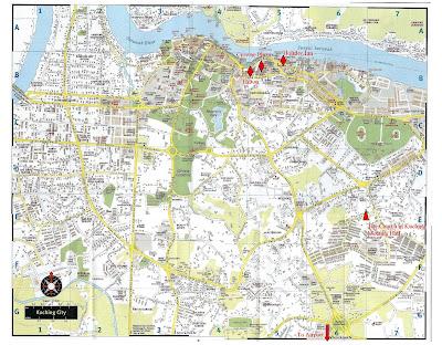 Map Kuching