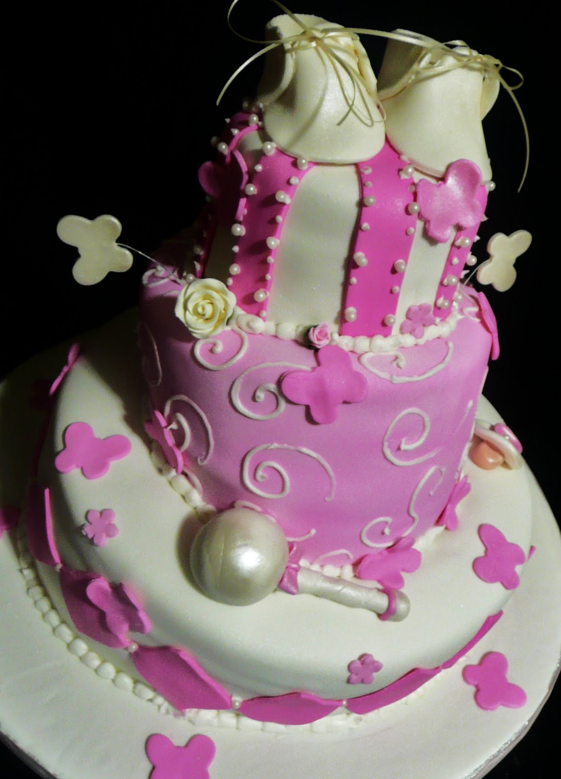 baking with roxana 39 s cakes little girls baby shower cake