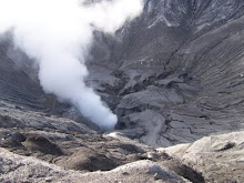 Active crater of Bromo Mt in East Java