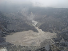 Active crater of Tangkuban Perahu Mt-West Java