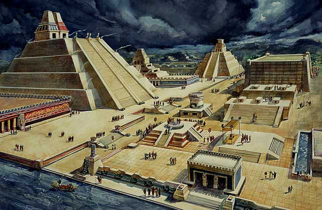 La gran tenochtitla